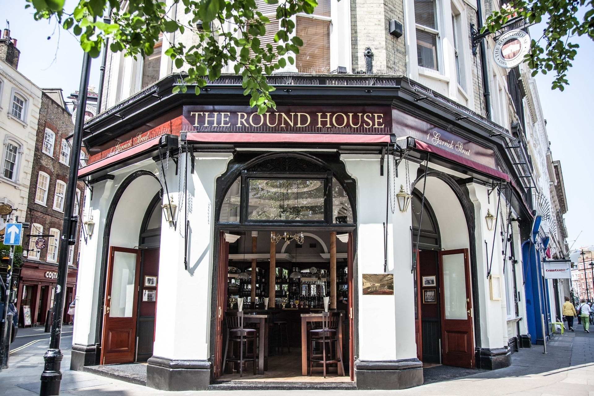Round House Entrance